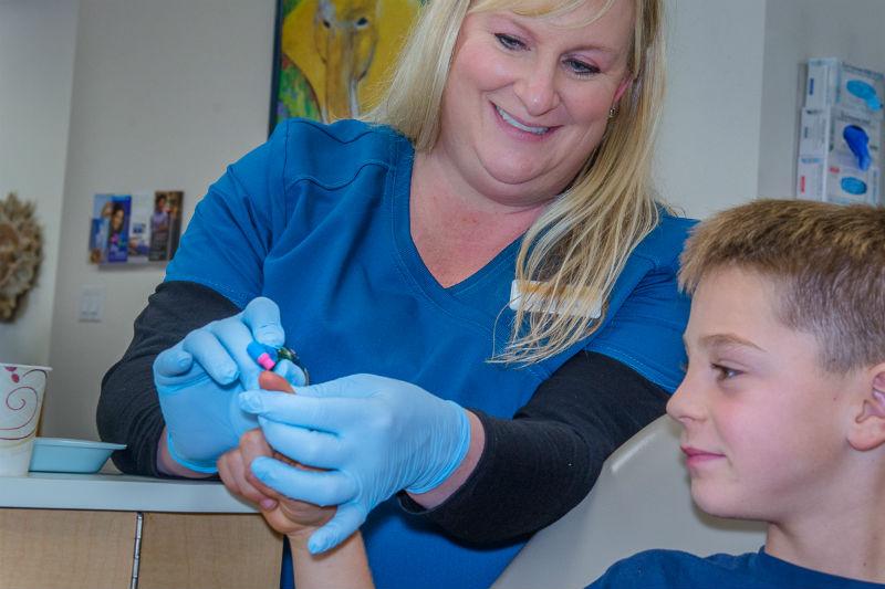 Dental lessons for kids